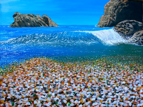 Glass Beach - (sold) - ©JBowers