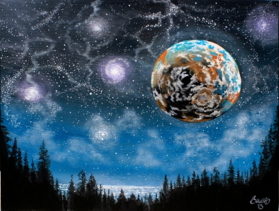 Planet X - (sold) - ©JBowers